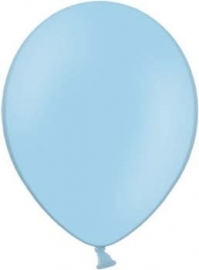 Latex ballonnen zacht blauw (10st)
