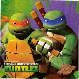 Teenage Mutant Ninja Turtles feestartikelen servetten (20st)