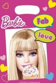 Barbie Fab feestartikelen feestzakjes (6st)