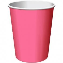 Effen kleur tafelgerei Roze bekers (14st)