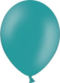 Latex ballonnen turquoise (10st)