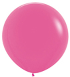 XL Mega ballon | Fuchsia Roze