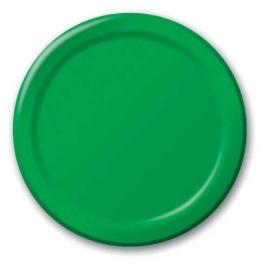 Effen kleur tafelgerei Groen borden (16st)