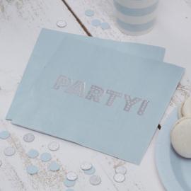 Pastel Perfection Blue - Servetten (20st)