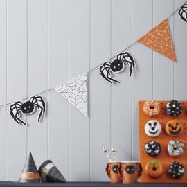 Spooky Halloween feestartikelen - spinnenweb slinger