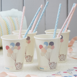 Little One babyshower versiering - bekertjes (8st)