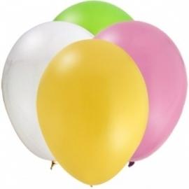 Sweet at one girl ballonnen (12st)