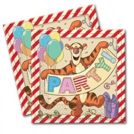 Winnie the Pooh feestartikelen servetten (20st)