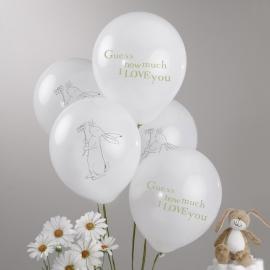 Raad eens hoeveel ik van je hou feestartikelen ballonnen (8st)