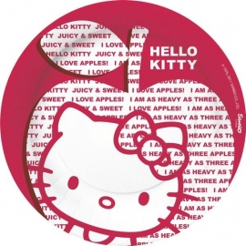 Hello Kitty Apple feestartikelen borden (8st)