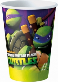 Ninja Turtles feestartikelen bekers (8st)