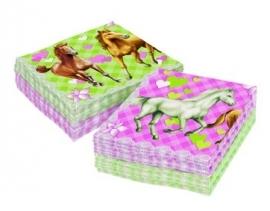Paarden kinderfeest - servetten (20st)