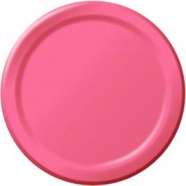 Effen kleur tafelgerei Roze borden (8st)
