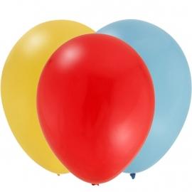Peppa Pig feestartikelen ballonnen set 'rood' (12st)