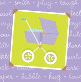 Mommy Chic babyshower feestartikelen servetten (16st)