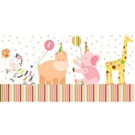 """""""Sweet at one girl"""" 1e verjaardag feestartikelen tafelkleed"""