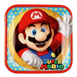 Super Mario feestartikelen - borden (8st)