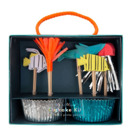 Under The Sea feestartikelen | Cupcake  Kit (48dlg)
