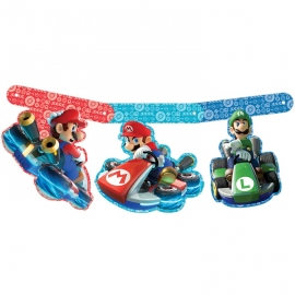 Nintendo Mariokart feestartikelen - slinger