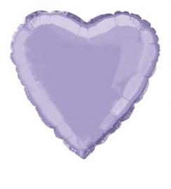 Folie/ helium ballon hart lila