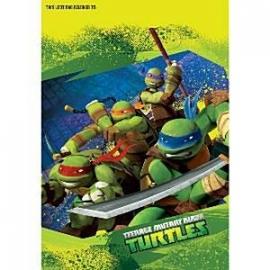 Ninja Turtles feestartikelen feestzakjes (8st)