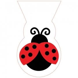 Cello bags Fancy Ladybird/ Lieveheersbeestje (12st)