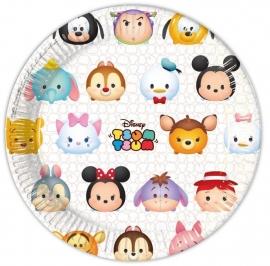 Disney Tsum Tsum feestartikelen - borden (8st)