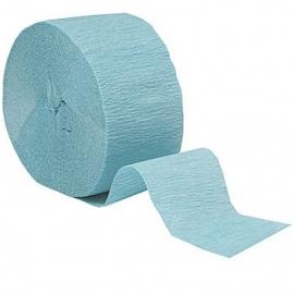 Crepe Streamer pastel blauw (2st)