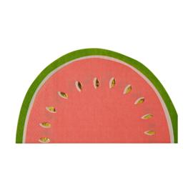 Summer Fruit feestartikelen - meloen servetten (16st)