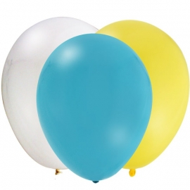 EMOJI feestartikelen - ballonnen (12st)