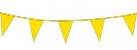 Vlagslinger/ vlaggenlijn geel (10m)