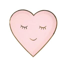 MERI MERI BLUSHING HEART BORDEN (8ST)