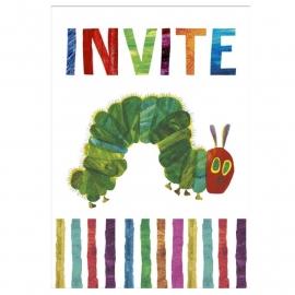 Rupsje Nooitgenoeg feestartikelen uitnodigingen (8st)