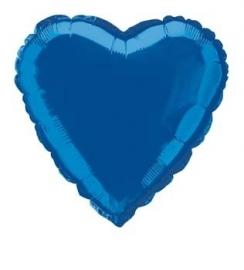 Folie / helium ballon hart blauw