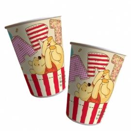 Winnie the Pooh feestartikelen bekers (8st)