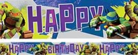 Ninja Turtles feestartikelen folie slinger 4,5m