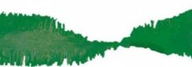 Crepe slinger groen 6 meter