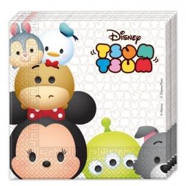 Disney Tsum Tsum feestartikelen - servetten (20st)