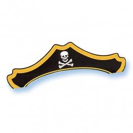 Piraten feestartikelen Piraten hoed (8st)
