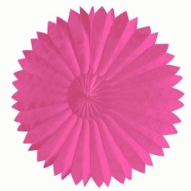 Honeycomb tissue fan roze