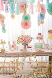 Meri Meri Pastel feestartikelen Pinwheels set (6st)