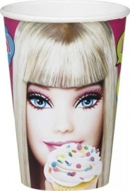 Barbie Fab feestartikelen bekers (8st)