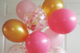 Latex ballonnen - Effen kleur