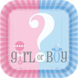 Boy or Girl? Gender Reveal feestartikelen