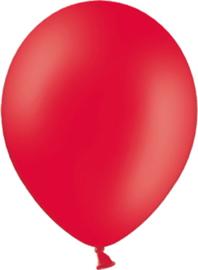 Latex ballonnen rood (10st)