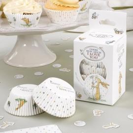 Raad eens hoeveel ik van je hou feestartikelen cupcake vormpjes (100st)