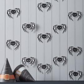 Spooky Halloween feestartikelen - spinnen hangdecoratie