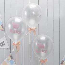 Little One Babyshower Ballonnen (10st)