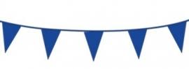 Vlagslinger/ vlaggenlijn blauw (10m)