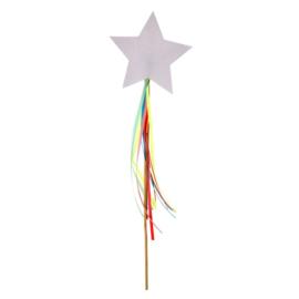 Regenbogen en eenhoorns feestartikelen - toverstafjes (8st)